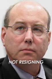 not resigning