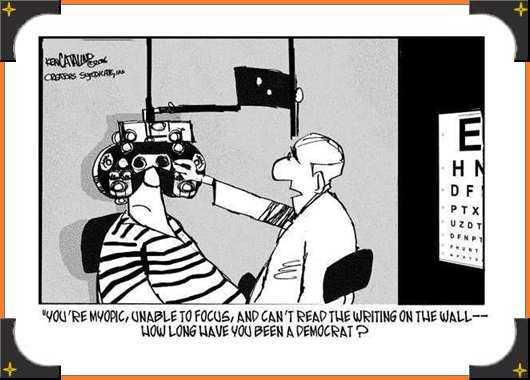 myopia cartoon