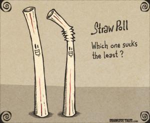 straw-poll