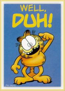 Garfield-well-duh
