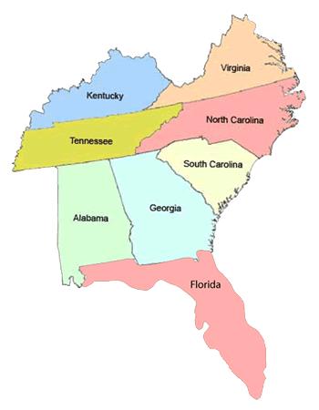Ncpol Art Pope Sending Jobs To GEORGIA - Georgia kentucky map