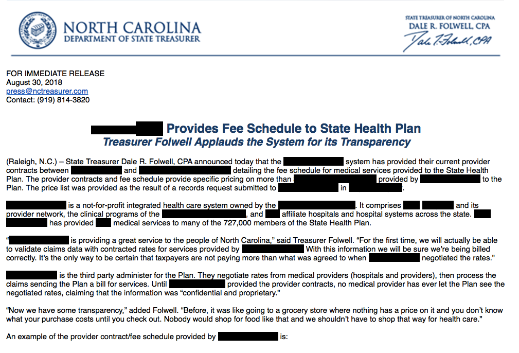 ncpol: Folwell to UNC Health Care: [REDACTED] you! – The